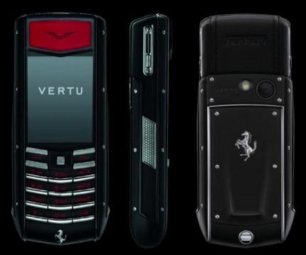 vertu Ascent Ti Ferrari collection NERO edition
