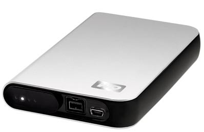 Western Digital My Passport Studio with FireWire 800