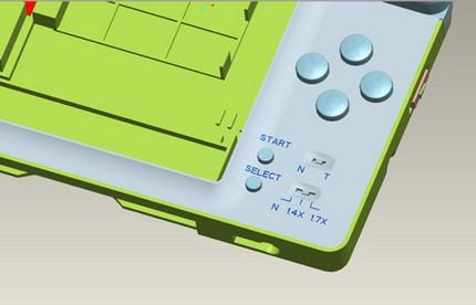 XCM Hyper gear lite overclocks Nintendo DS