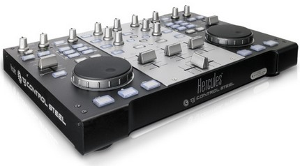 Hercules DJ Control Steel Mixing Deck