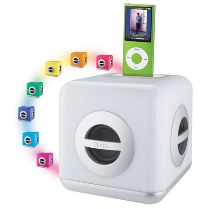 iHome iH15W Colorful iPod Stereo System