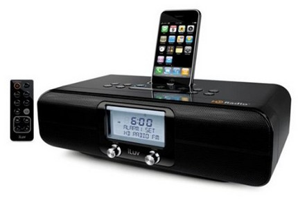 iLuv iHD171 HD Radio with iPhone / iPod Dock and iTunes Tagging