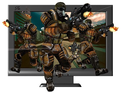 iZ3D 3D Monitor Display