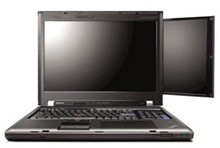 Lenovo ThinkPad W700 with Second Display and Palm Rest digitizer