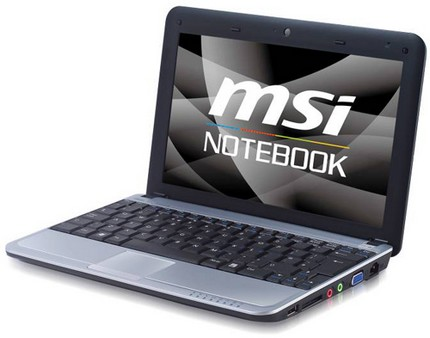 MSI Wind U115 Hybrid has SSD and HDD