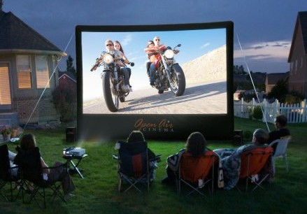 Open Air Home Screen - Inflatable Movie Screen