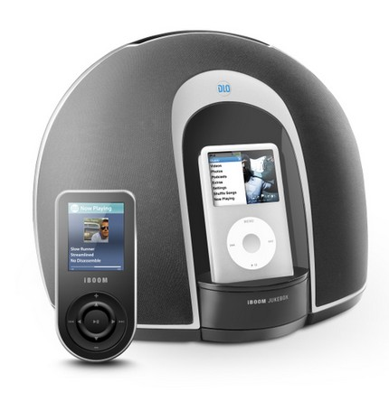 Philips DLO iBoom JukeBox ipod iphone