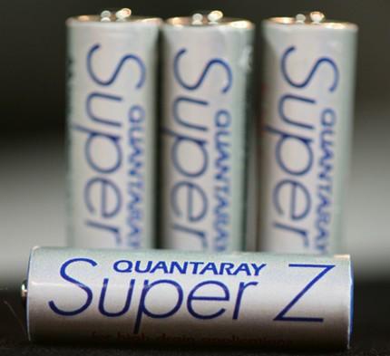 PowerGenix Quantaray Super Z Nickel-Zinc AA rechargeable battery