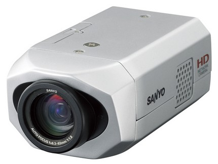 Sanyo VCC-HDN1 - Xacti-based HD Network Surveillance Camera