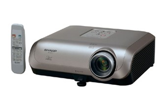 Sharp PG-F255W Wide-XGA DLP Projector