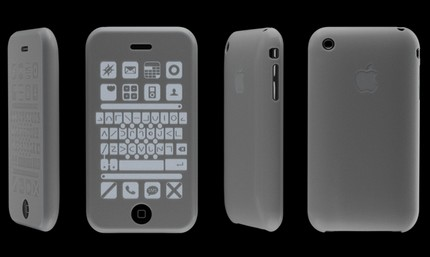 Silicone Touch - iPhone Case for Visually Impaired