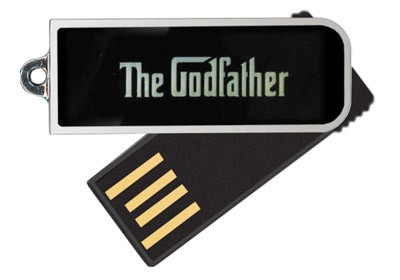 "Super Talent ""The Godfather"" USB Flash Drives"
