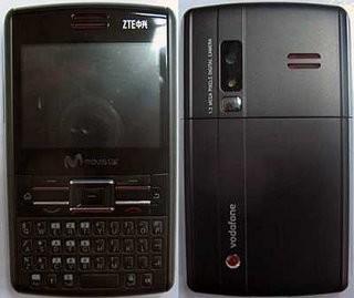 ZTE E810 Smartphone for Movistar and Vodafone