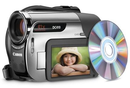 Canon DC410 DVD Camcorder