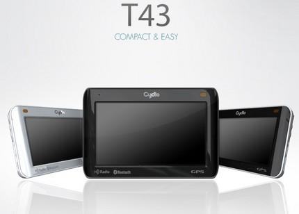 Cydle T43 Compact GPS Device