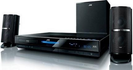 JVC TH-SB100 Blu-ray Home Theater System