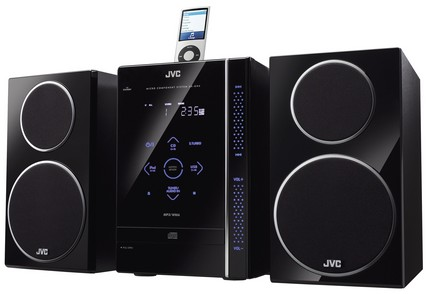 JVC UX-GN6 mini audio system ipod dock