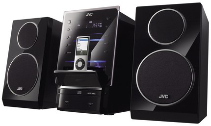 JVC UX-LP5 mini audio system ipod dock