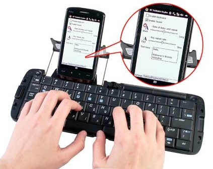 MSI BK100 Foldable Bluetooth Keyboard
