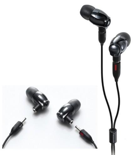 Panasonic RP-HJE900 - World's First Zirconia In-ear Headphones
