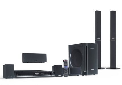 Panasonic SC-PT770 ipod home theater system