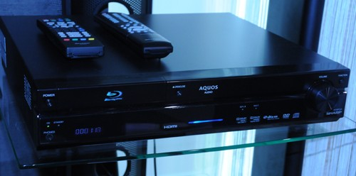 Sharp AQUOS BD-MPC40 and BD-MPC30 Blu-ray Home Theater Systems