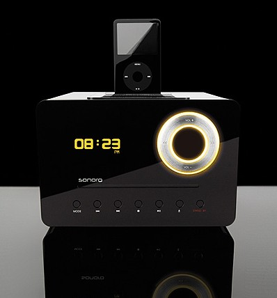 Sonoro Eklipse iPod / CD Audio System