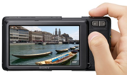Sony Cyber-shot DSC-G3 WiFi Camera with Web Browser