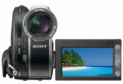 Sony Handycam DCR-DVD850 DVD Camcorder