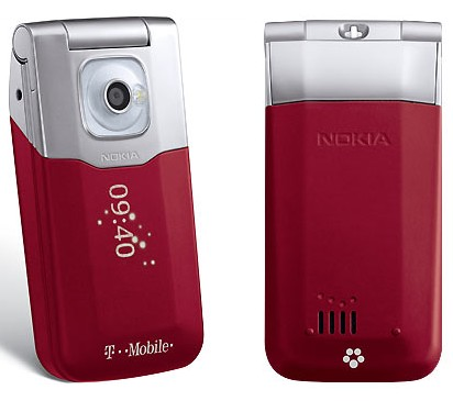 T-Mobile Nokia 7510 Clamshell