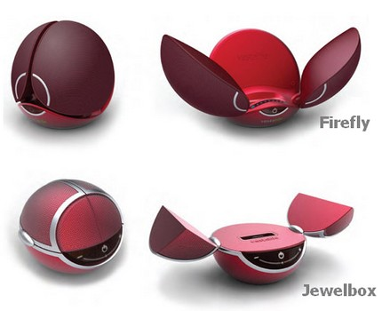 Vestalife FireFly and Jewelbox iPhone / iPod Docks