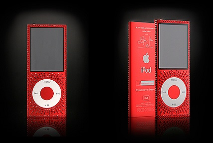 EJAF iPod nano Limited Edition with 250 Swarovski crystals