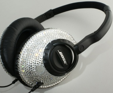 Hohenthaner BOSE Headphones with 1000 Swarovski Crystals