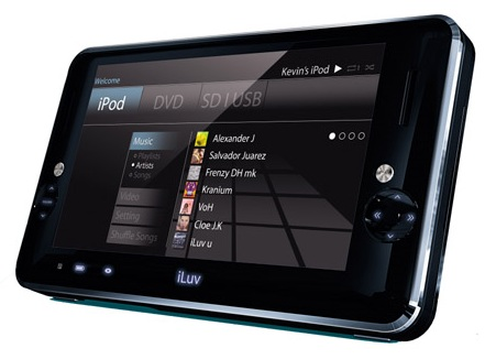 i-Luv i1166 PMP / DVD Player / iPod Dock