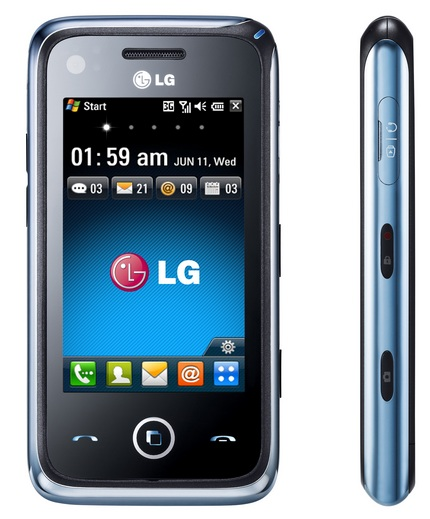 LG GM730 WM6 Phone with S-Class UI