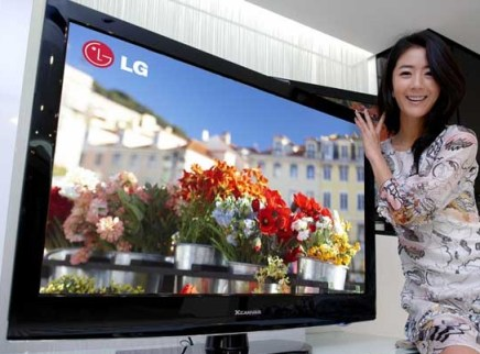 LG XCanvas LH30FD Series uses 70% less power