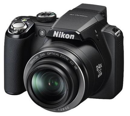 Nikon CoolPix P90 with 24x optical zoom