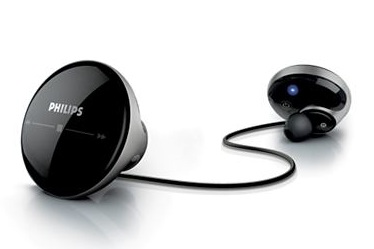 Philips Tapster Bluetooth stereo in-ear headset