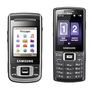 Samsung C3110 and C5212 Mobile Phones