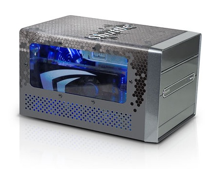 Shuttle XPS SDXi Carbon Liquid-Cooled Mini PC