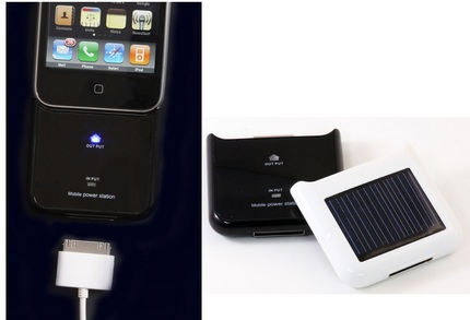 SOLiCharger Solar-Powered iPhone Charger