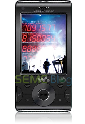 Sony Ericsson Hikaru Walkman Slider