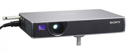 Sony VPL-MX25 and VPL-MX20 3LCD projector