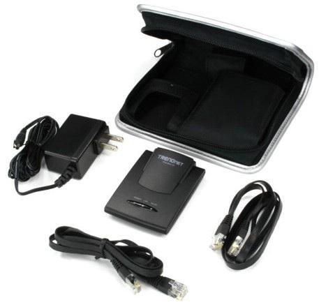 TRENDnet TEW-654TR Wireless N Travel Router Kit