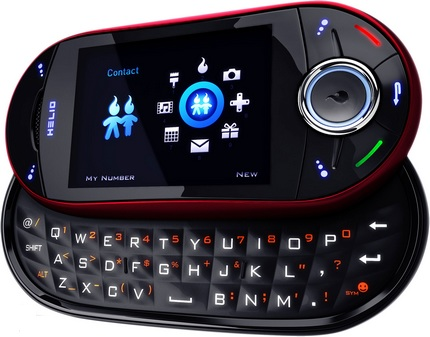 Virgin Mobile Helio Ocean 2 QWERTY dual slider
