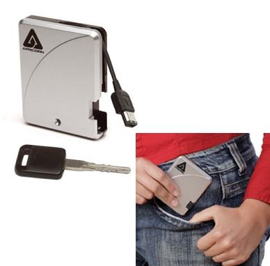 Apricorn Aegis Mini 1.8-inch 240GB Externla hard drive