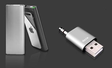 Dexim Shu-Lip adds USB to iPod Shuffle
