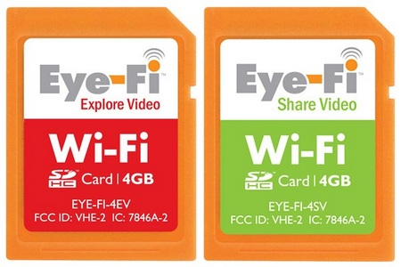 Eye-Fi 4GB Share Video and Explore Video cards
