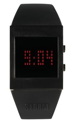 Hammacher Schlemmer Black Screen Watch