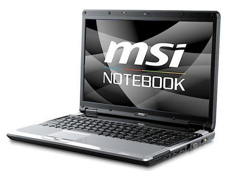 MSI EX620 100 Limited Edition notebook